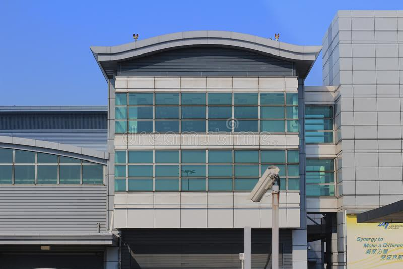 24 de agosto de 2014 terminal estupendo 1 Hong-Kong del aeropuerto fotografía de archivo