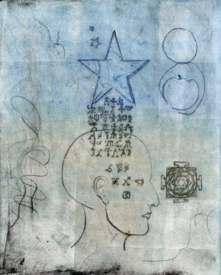 De Alchimie van de ster vector illustratie