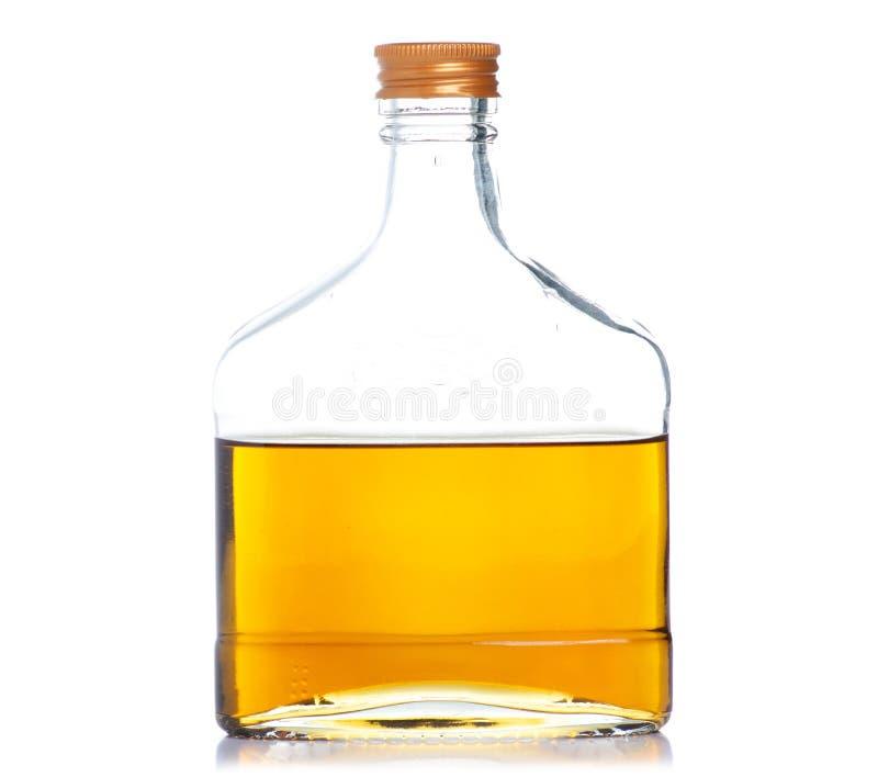 De alcohol van de flessencognac royalty-vrije stock afbeelding