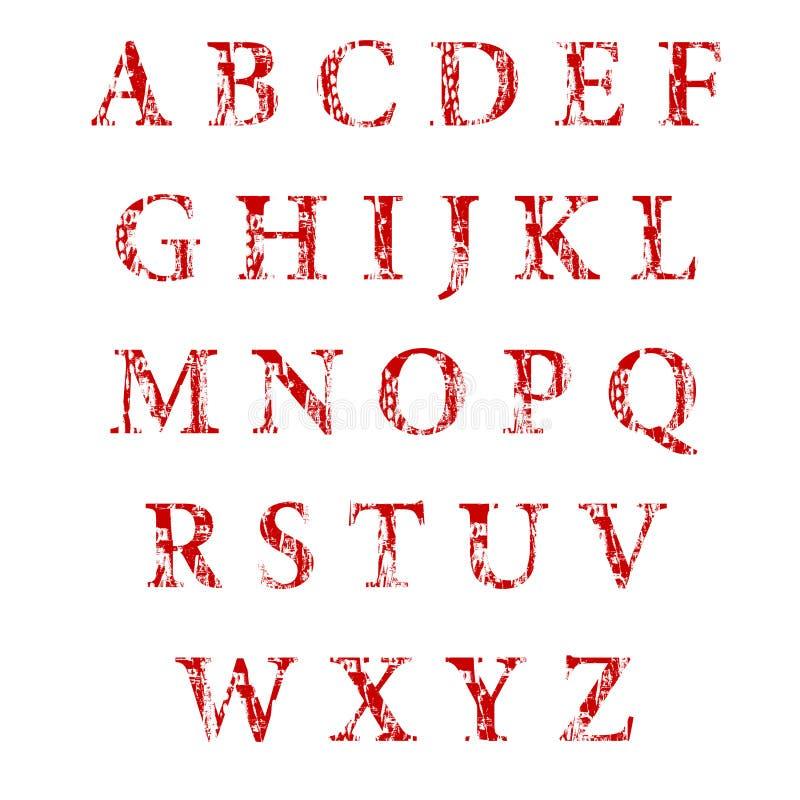 De alfabetkopbal royalty-vrije stock afbeelding