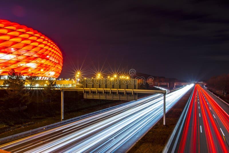 De Allianz-Arena royalty-vrije stock foto