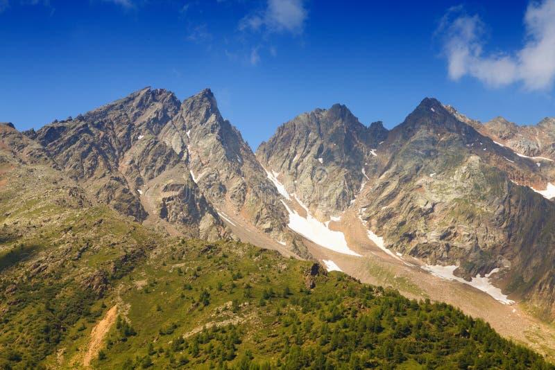 De Alpen van Ortler royalty-vrije stock afbeeldingen