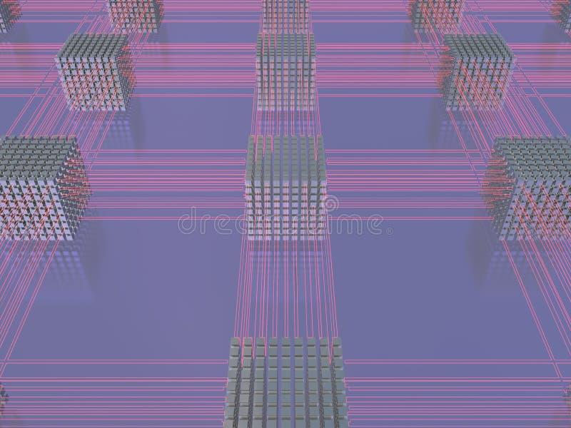De alta tecnología ilustración del vector