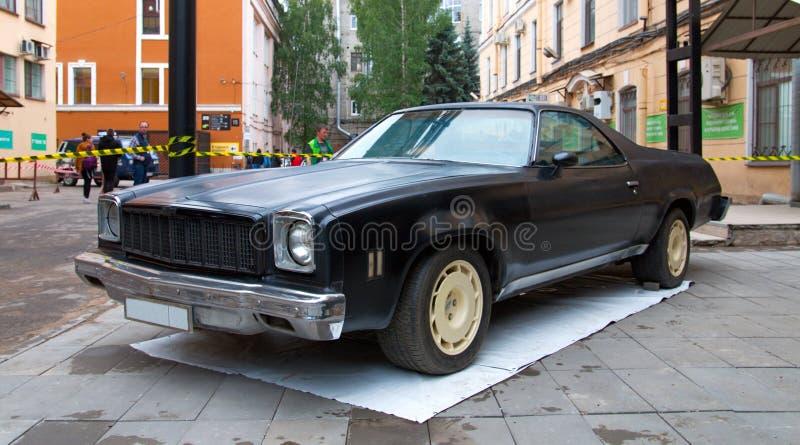 De Amerikaanse auto Chevrolet Gr Camino stock foto