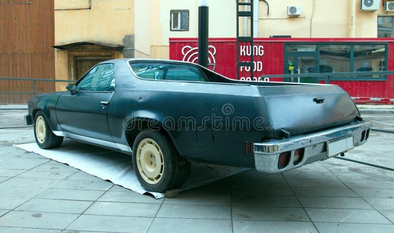 De Amerikaanse auto Chevrolet Gr Camino royalty-vrije stock afbeeldingen