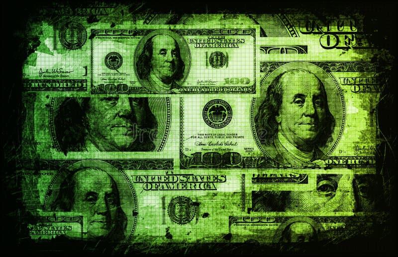 De Amerikaanse Samenvatting van de Munt van de Dollars van de V.S. stock illustratie