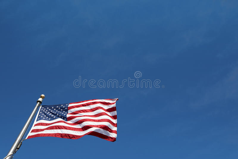 De Amerikaanse Vlag royalty-vrije stock foto's