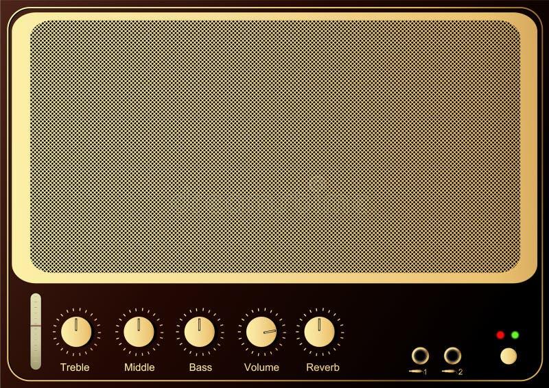 De Ampère van de gitaar stock illustratie