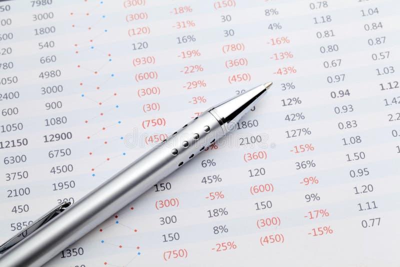 De analyse van gegevens royalty-vrije stock afbeelding