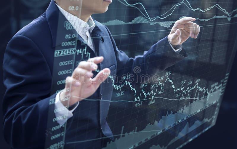 De Analyse van het Handelsinvesteringenrisico royalty-vrije stock foto's
