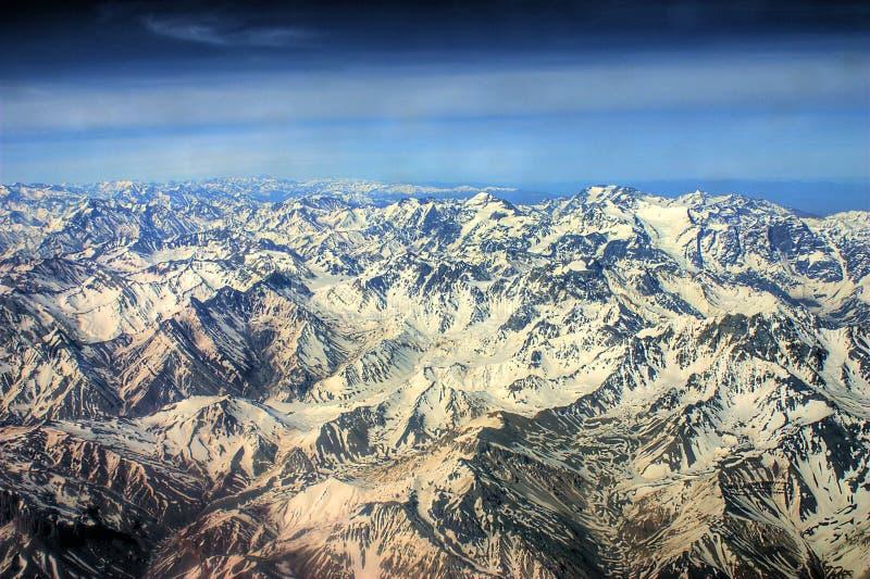 De Andes royalty-vrije stock foto