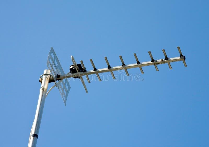 De antenne van de televisie stock foto's