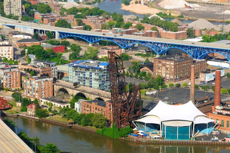 De antenne van de Vlakten van Cleveland royalty-vrije stock foto