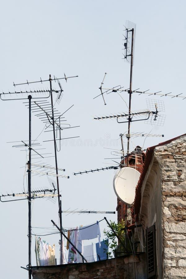 De antenne van het huis royalty-vrije stock afbeeldingen
