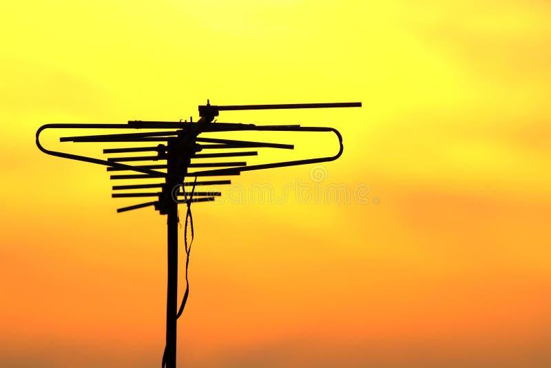 De antenne van TV royalty-vrije stock afbeeldingen