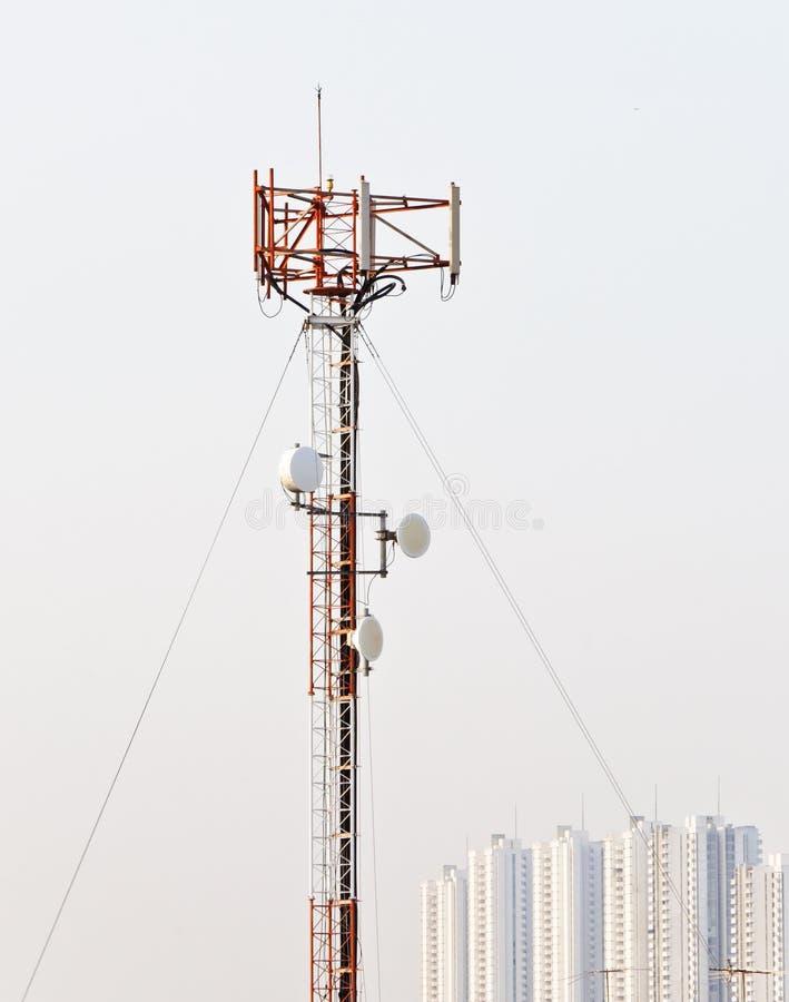 De antennepool van de telefoon stock fotografie