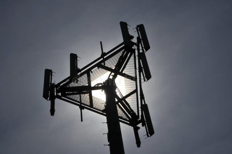 De Antennes van de telecommunicatie stock fotografie