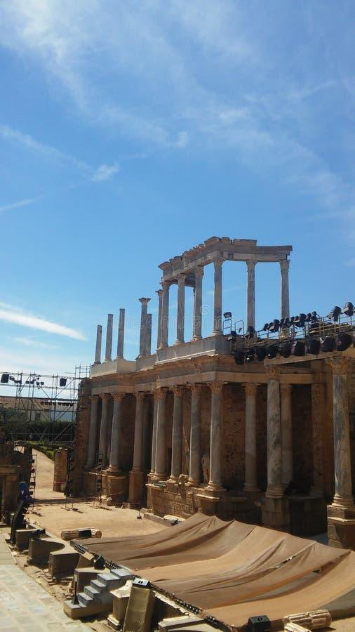 De antieke bouw stock afbeelding