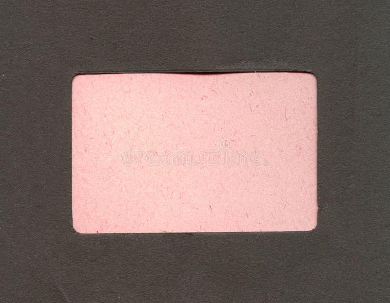 De antieke pagina van het fotoalbum stock afbeeldingen