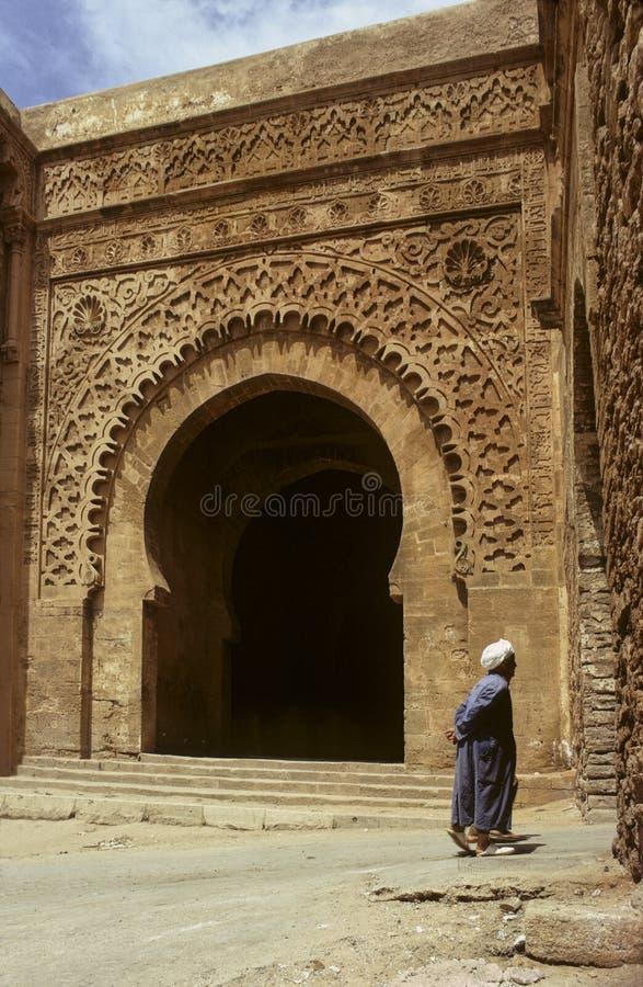 De antieke poort van Rabat stock foto