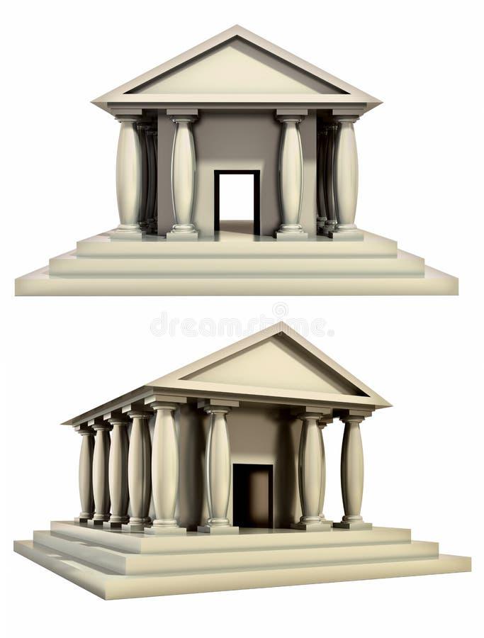 De antieke roman bouw