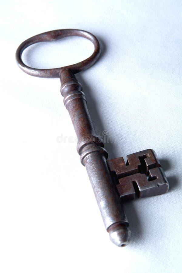 De Antieke Sleutel Van Het Tapgat Van De Gevangenis Stock Fotografie