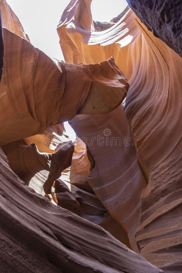 De Antilopecanions, lagere canion royalty-vrije stock foto