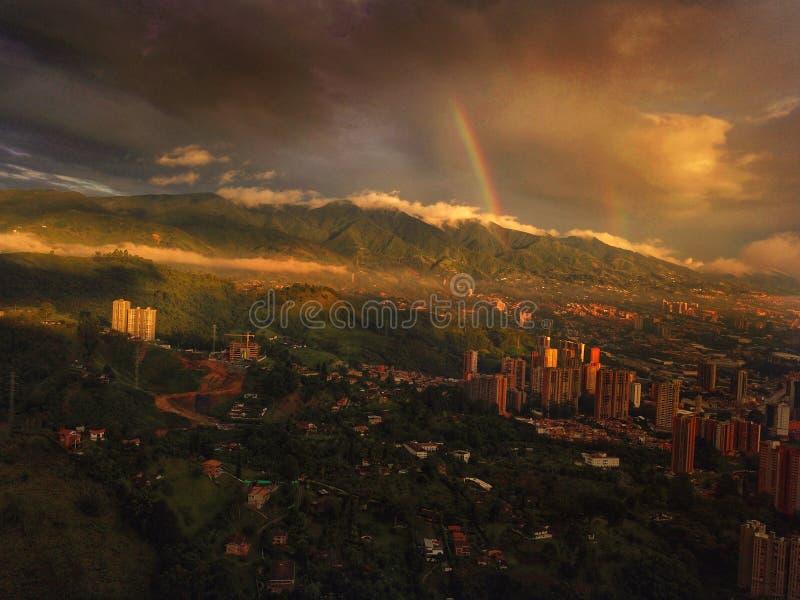 De Antioquia Colômbia é o lugar o mais importante no mundo aproxima-se ao visitado isto fotos de stock royalty free