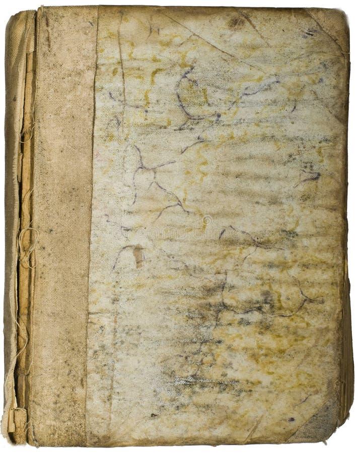 De antiquairboeken van de dekking royalty-vrije stock afbeelding