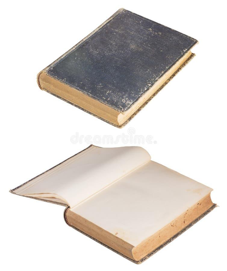 Het antieke Boek sloot Open royalty-vrije stock fotografie