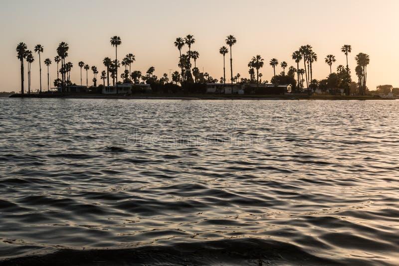 De Anza Cove auf Auftrag-Bucht in San Diego stockfotografie