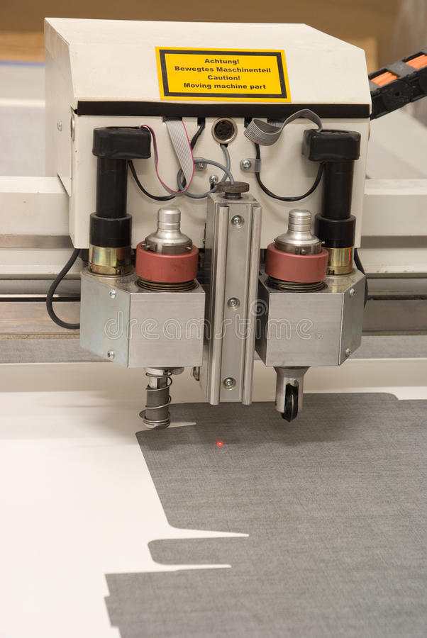 De apparatuur om bureau af te drukken stock afbeelding