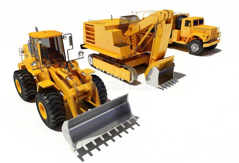 De apparatuur van de bouw vector illustratie