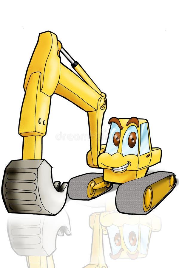 De apparatuur van de bouw stock illustratie