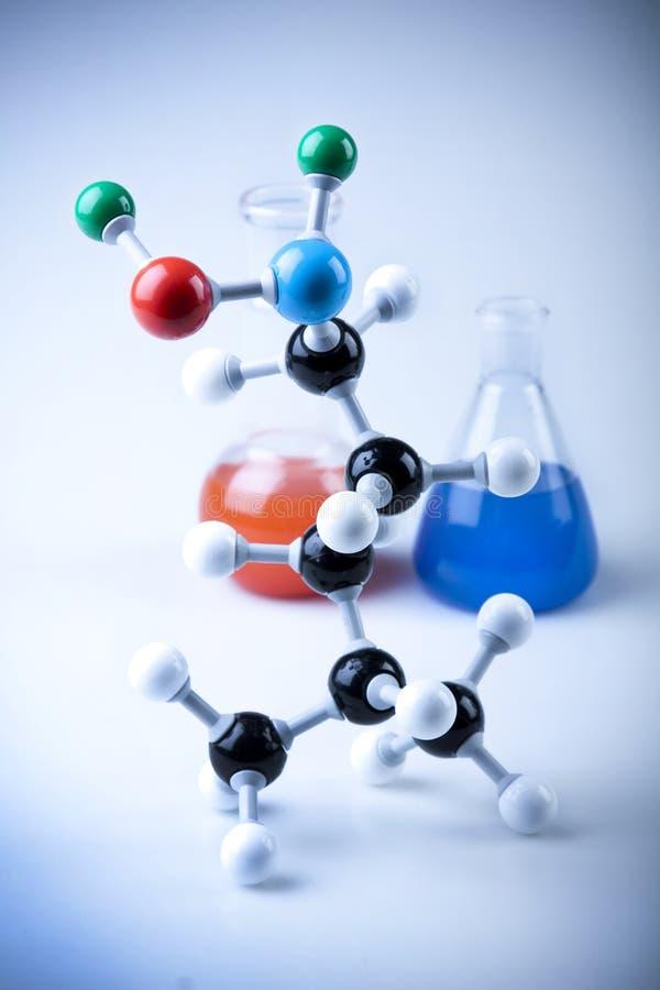 De Apparatuur van de chemie stock fotografie