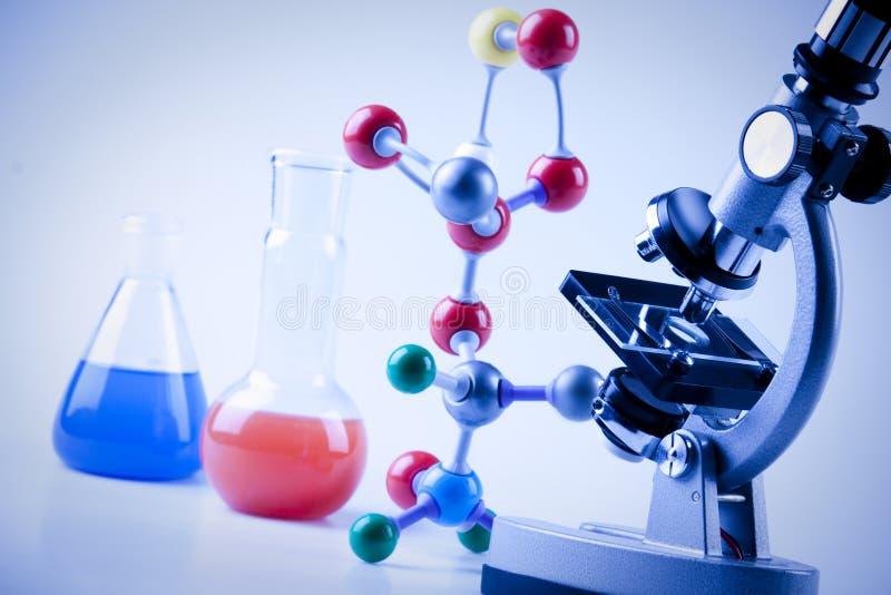 De Apparatuur van de chemie royalty-vrije stock foto's