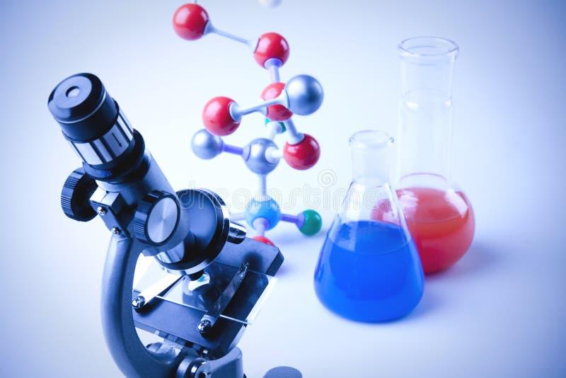 De Apparatuur van de chemie royalty-vrije stock foto