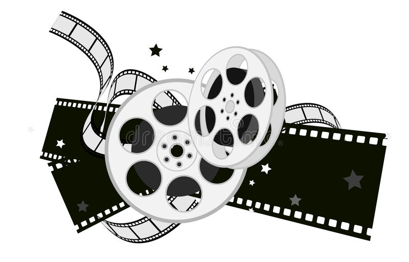 De apparatuur van de film vector illustratie