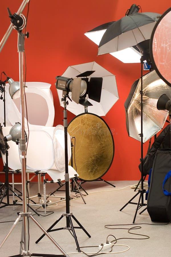 De apparatuur van de foto stock foto
