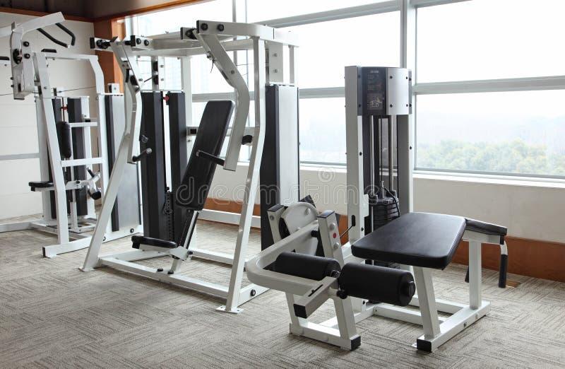 De apparatuur van de gymnastiek stock afbeelding