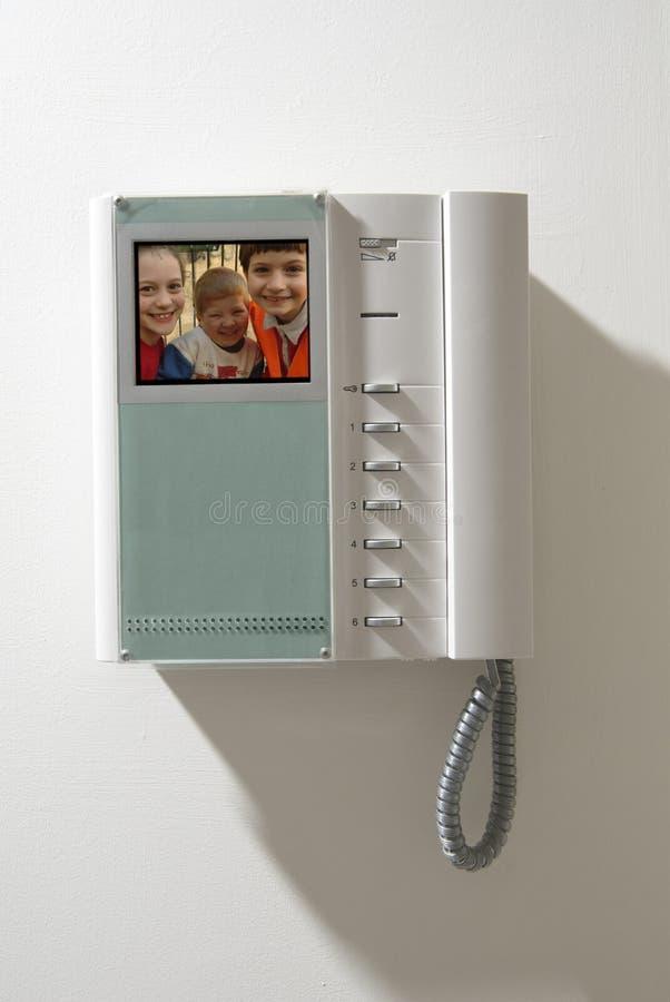 De apparatuur van de intercom royalty-vrije stock afbeelding