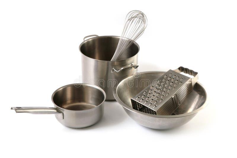 De apparatuur van de keuken royalty-vrije stock afbeelding
