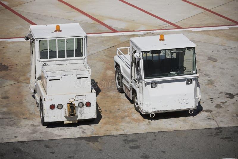 De apparatuur van de luchthaven stock foto's