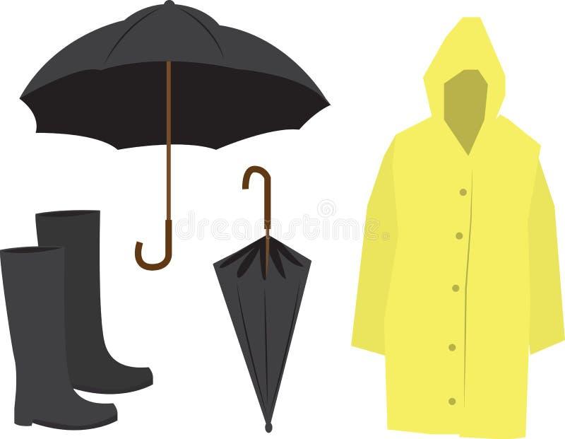 De Apparatuur van de regen stock illustratie