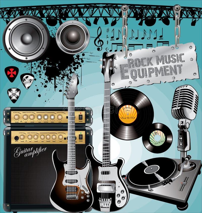 De Apparatuur van de rock royalty-vrije illustratie