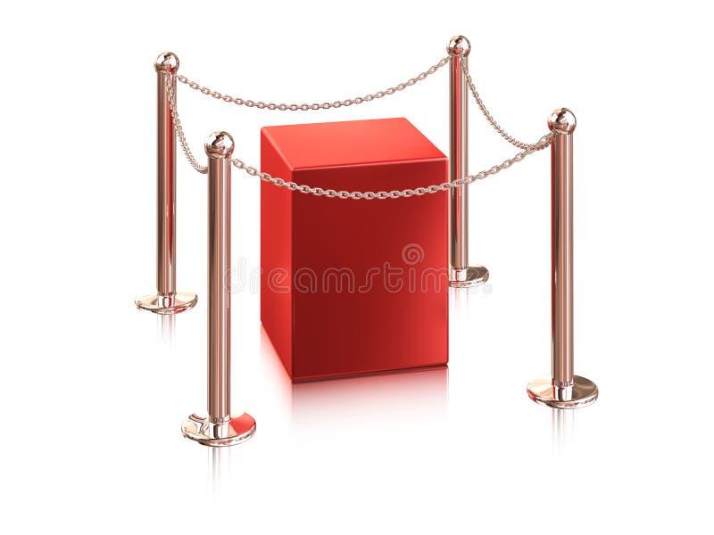 De apparatuur van de tentoonstelling royalty-vrije illustratie