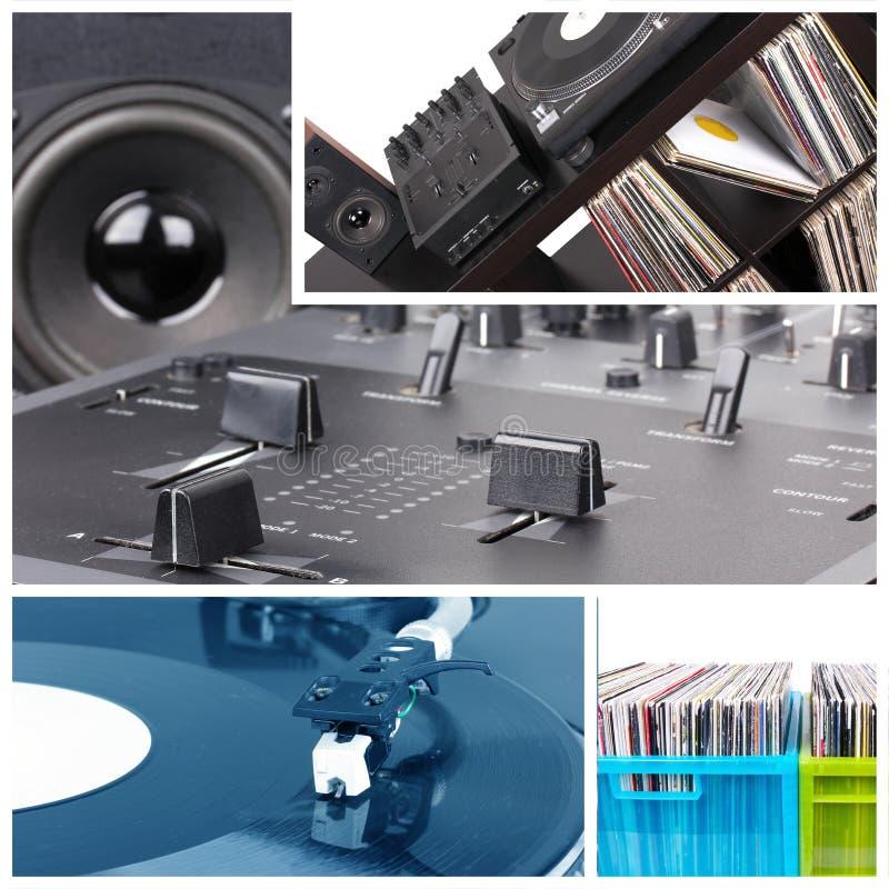 De Apparatuur van DJ stock foto