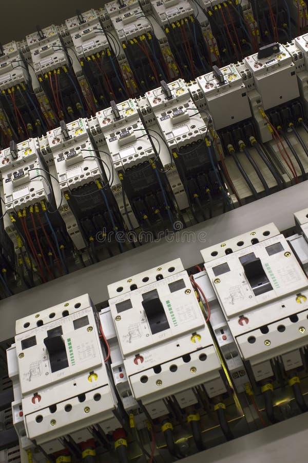 De apparatuur van het de controlecentrum van de motor royalty-vrije stock foto's