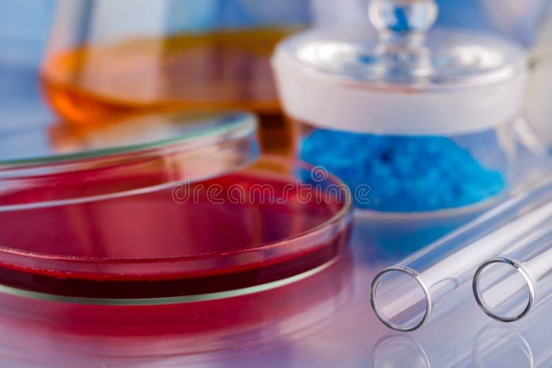 De apparatuur van het laboratorium royalty-vrije stock afbeelding