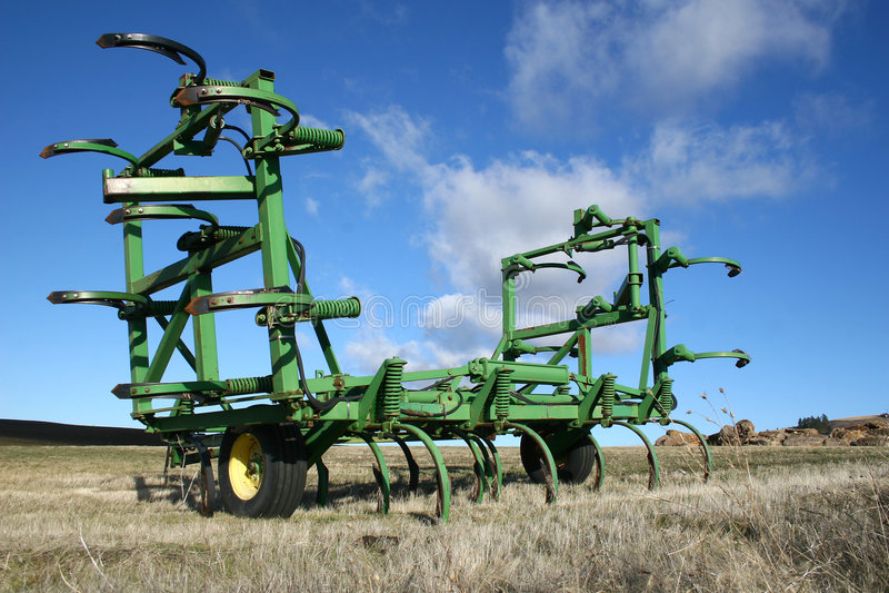 De Apparatuur van het landbouwbedrijf stock afbeeldingen